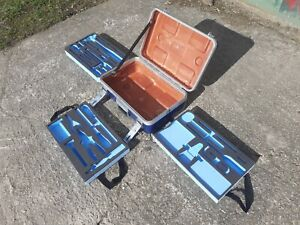Ex Royal Navy E5A Tool Box Case With Foam Cut Out Tool Trays
