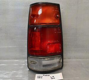 1989-1997 Isuzu Amigo Rodeo Pickup 1994-1997 Passport Left oem tail light 14 2H8