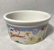 Vintage Riviera Van Beers Good Cat Dish Kitty Bowl Stoneware Retired Dishes, Feeders & Fountains