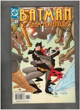 New ListingBatman Gotham Adventures #43 Dc 2001 Bob Smith Harley Quinn Cover Nm