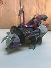 Dino Riders Triceratops With Weapons