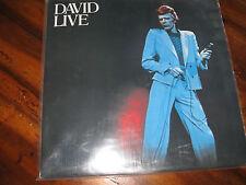 DAVID BOWIE LIVE ETAT NEUF 2 LP 1990