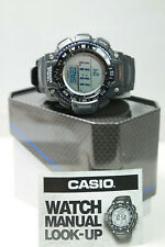 CASIO Mens SGW1000-1A Triple Sensor Compass Altimeter Thermom Barometer Watch