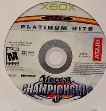 Unreal Championship Platinum Hits (Microsoft Xbox, 2003) - Disc Only