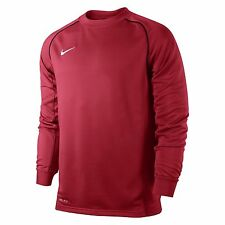 NIKE FOUNDATION 12 MIDLAYER LONG SLEEVED TOP SIZE Youths 13/15YRS  Red