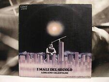 ADRIANO CELENTANO - I MALI DEL SECOLO LP VG/G+/VG- 1972 1st PRESS BFML-LP 701