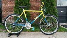 "Nishiki Ariel Mountain Series Complete Bike 19.5"" Yellow Fade Kuwahara Custom"