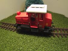 1x  Playmobil  Trafo Bahn  kleine rote Diesellok