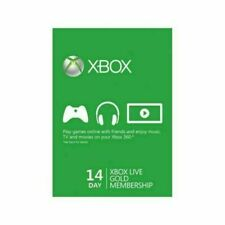 XBOX LIVE 14 Day GOLD Trial Code Digital Delivery.