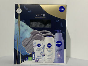 Nivea Slipper Gift Set freepost Christmas gift Size Medium Women's