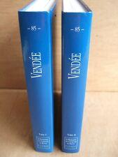 LE PATRIMOINE DES COMMUNES DE LA VENDEE. Editions FLOHIC JUILLET 2001.  2 TOMES