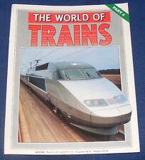 THE WORLD OF TRAINS PART 4 - TGV - TRAIN A GRANDE VITESSE/PARIS 1988