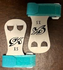 Was $15.99 Nwt Gk Elite Gymnastics Hand Grips With Straps Gk32 Blue Size Xs