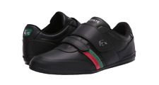 LACOSTE 739CMA00881B4  MISANO STRAP 120 1 U Mn`s (M) Black Leather Casual Shoes