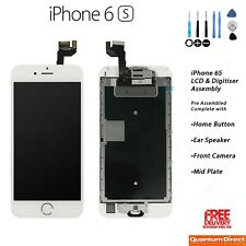 NEW iPhone 6S Retina LCD Digitiser Screen Assembly Complete with Parts - WHITE