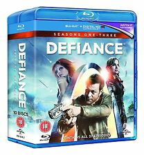 Defiance - The Complete Series [Seasons 1, 2, 3] (Blu-ray, 10 Discs) *NEW*