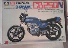 AOSHIMA HONDA CB 250 N HAWK JAPAN BAUSATZ MOTORRAD FULL KIT OVP BOX 1980
