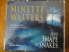 4 CD AUDIO BOOK - THE SHAPE OF SNAKES - Minette Walters