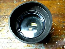 VINTAGE CANON HOYA 50mm PL 550 CAMERA LENS w HOOD:  USED BUT NICE CONDITION