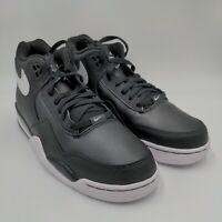 New NIKE AIR FLIGHT LEGACY - BLACK Basketball Mens Shoes BQ4212-002 r2 size 10