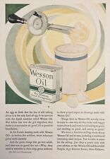 1926 AD(M5)~WESSON OIL & SNOWDRIFT CO. NEW ORLEANS. WESSON OIL FOR COOKING