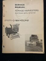 New Holland Forage Harvesters Electronic Metal Detectors *728