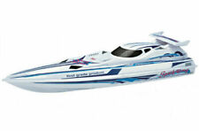 """36"""" RC 2.4G Speed-X Cyclone Racing Boat WHITE"""