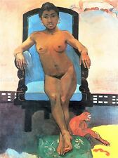 PAUL GAUGUIN ANNA JAVA WOMAN OLD MASTER ART PAINTING PRINT POSTER 2145OMA