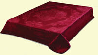 Solaron Blanket throw Thick Ultra Fine Polyester Mink Plush Heavy Weight