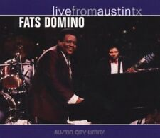 Fats Domino Live From Austin TX Rock and Roll Piano Blues Music CD New
