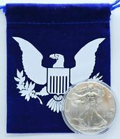 2020 American Eagle 1 oz Fine Silver Dollar Uncirculated Coin One Ounce Bullion