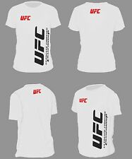 CAMISETA TSHIRT BLANCA UFC FIGHTER CHAMPIONCHIP GYM GIMNASIO TRAINING