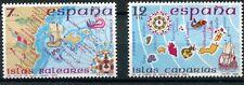 spagna 1981 baleari e canarie cartine 2250-1 MHN