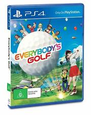 Everybody's Golf PlayStation 4 PS4 Action Adventure Game - NEW