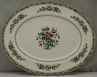 "Coalport Ming Rose 15"" Oval Serving Platter"