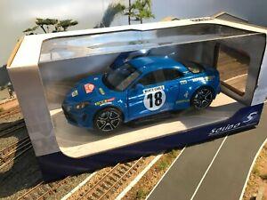 Voiture miniature Alpine A110 Rallye Monte-Carlo 2018 Solido 1/18 eme S1801603