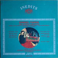 INÉDITS ORTF  GABRIEL PIERNE.   33T  LP