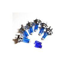 Audi A3 8P H7 H7 H7 501 55w ICE Blue Xenon HID High/Low/Fog/Side Headlight Bulbs