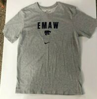 Kansas State Wildcats EMAW Nike TEE Team  Gray T-shirt Men's SZ L