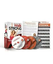 Jessica Smiths Walk Strong DVD 6 Week Total Transformation System Fitness H1015
