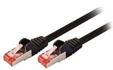 Valueline CAT6 S/FTP Network Cable RJ45 (8P8C) Male to RJ45 Male 0.15m Black