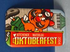 KITCHENER WATERLOO OKTOBERFEST 2004 VINTAGE MASCOT SOUVENIR ADVERTISING