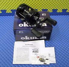 Okuma Metaloid Round Baitcast Reel NEW MODEL!! M-400