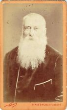Photo cdv : Nadar ; Portrait de Alphonse Karr , vers 1868