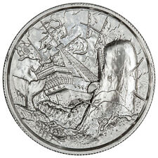 Elemetal Mint Privateer - Moby Dick White Whale 2 oz Silver UHR Round SKU46606
