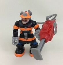 Billy Blazes Firefighter Press Fisher Price Rescue Heroes Action Figure Toy A5