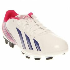 adidas F5 TRX FG Women's Soccer Cleats Shoes White Blue Pink Size 10 NEW!