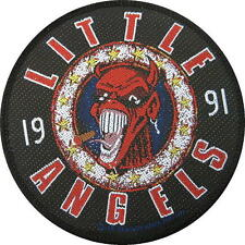 """LITTLE ANGELS AUFNÄHER / PATCH # 5 """"PRODUCT OF THE WORKING CLASS"""" - 10cm VINTAGE"""