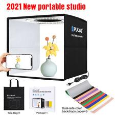 25cm Photo Studio Lighting Box Portable Photography Backdrop LED Light Room Tent