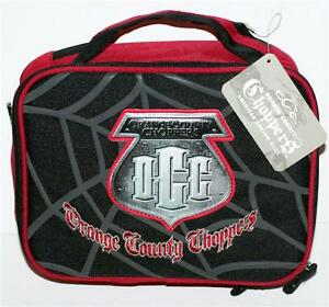 ORANGE COUNTY CHOPPERS OCC Reality TV Show Insulated Biker SNACK LUNCH BAG New